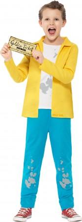 Roald Dahl Charlie Bucket Boys World Book Week Fancy Dress Kids Costume