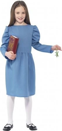 Roald Dahl Matilda Girls World Book Week Fancy Dress Up Child Kids Costume