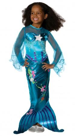 Mermaid Costumes - Blue Magical Mermaid Toddler Child Costume Fancy Dress Mermaid Princess Ariel Book Week Fancy Dress Child Costume