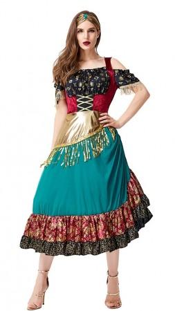 Womens Gypsy Halloween Costume tt3121_1