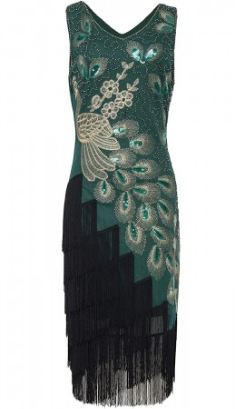 1920 gatsby flapper dress overall lx1051g