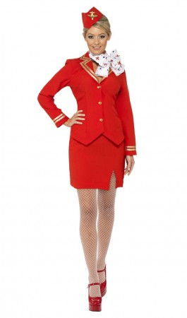 Flight Attendant Costume cs33873_1