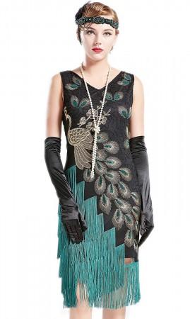 1920 gatsby flapper costume lx1051bk
