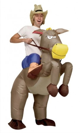 Donkey carry me inflatable costume tt2016