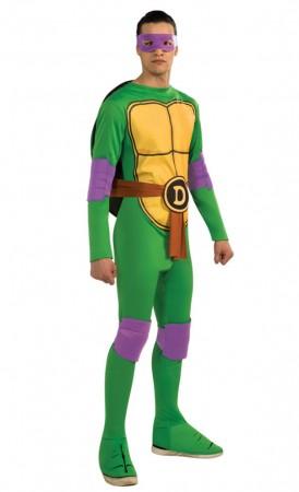 Movie/TV/Cartoon Costumes - TV Show TMNT Teenage Mutant Ninja Turtles Costume Rubie's Donatello Purple