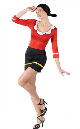 Olive Oyl Popeye Costumes LH-137
