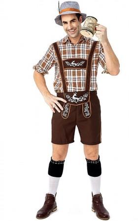 Bavarian Beer Mens Costume tt3108