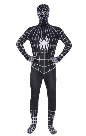 Spiderman Costumes - Adult Spiderman Super Hero Halloween Costume Spider Man Outfit Fancy Dress Party