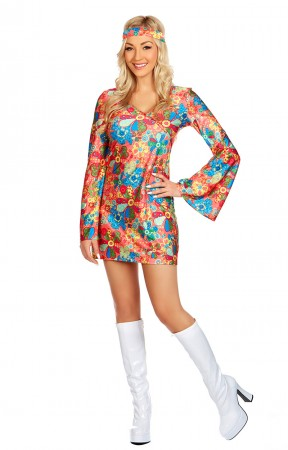 60s, 70s Costumes LH-148A