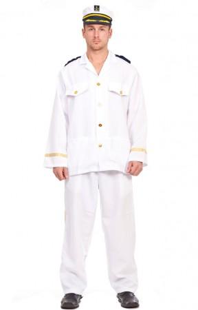 Sailor Costumes - Mens Sailor Captain Fancy Dress Costume