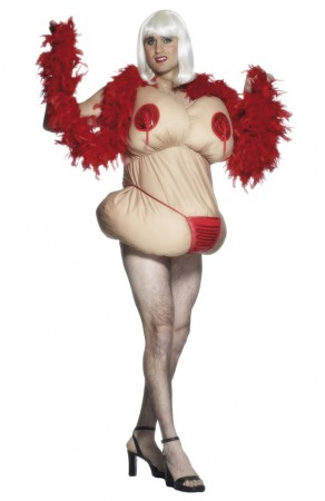 Fat Pat Stripper Costume cs21319