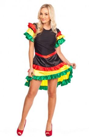 Spanish Costume - Child Girl Spanish Senorita Flamenco Teen Costume