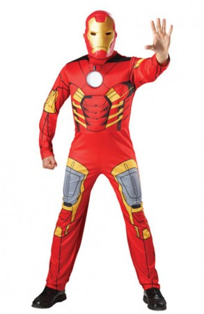 Iron Man Costumes - The Avengers Iron Man Mark VII Muscle Halloween Adult Hero Costume