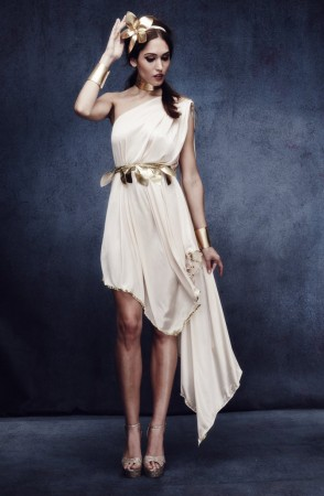Roman Costume - Adult Womens Fever Roman Venus Greek Goddess Legends Myths Smiffys Fancy Dress Costume