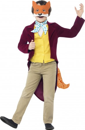Roald Dahl Fantastic Mr Fox Costume Boys World Book Week Fancy Dress Kids Child