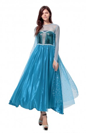 Frozen Elsa Costumes LB4017_1