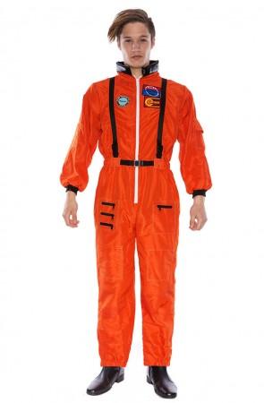 Astronaut Costume - Astronaut Orange Adult Halloween Space NASA Plus Costume Fancy Dress
