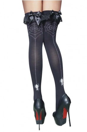 Spiderman Costumes - Black Spider Stockings