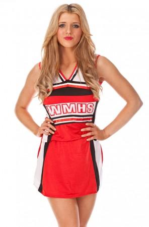 Cheerleader Costume - Cheerleader School Girl Costume