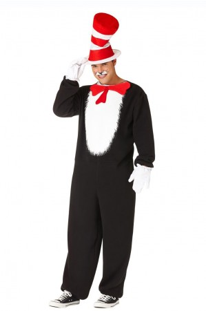 MENS DR SEUSS CAT IN THE HAT COSTUME PP1001