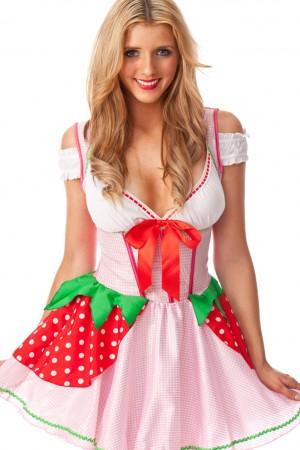 Strawberry Girl Costume