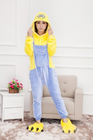 Onesies & Animal Costumes Australia - Minions Onesie Animal Adult Costume