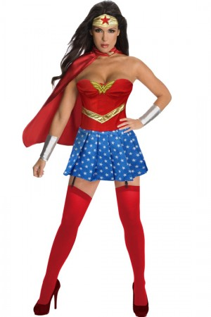 Ladies Wonder Super hero Costume