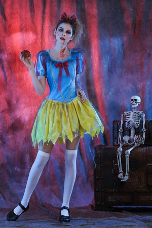 zombie snow white costumes lb2106