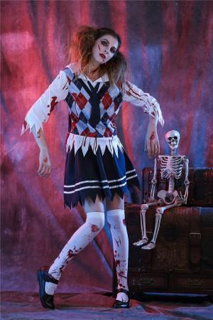 zombie school girl costumes lb2107