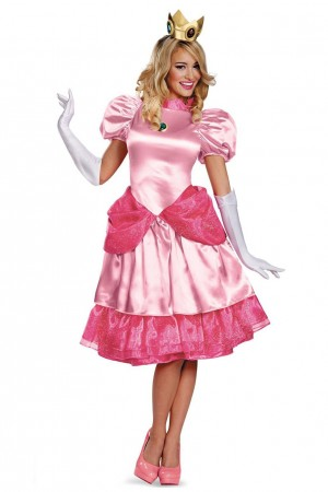 Princess Peach Super Mario Bros Nintendo Costume