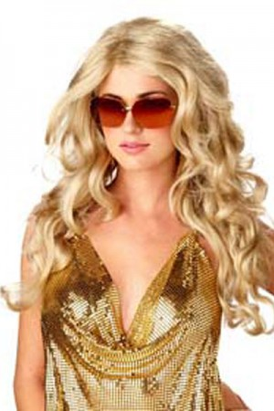Wigs - Ladies Long Curly Wigs Costumes Accessories