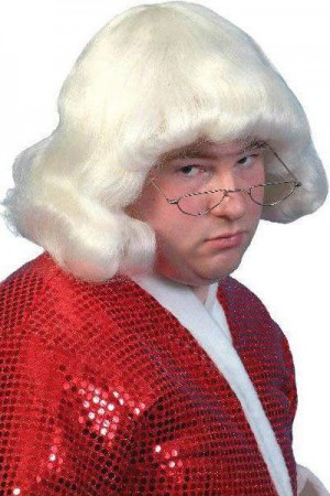 Wigs - Mens Short Mushroom Head Wig