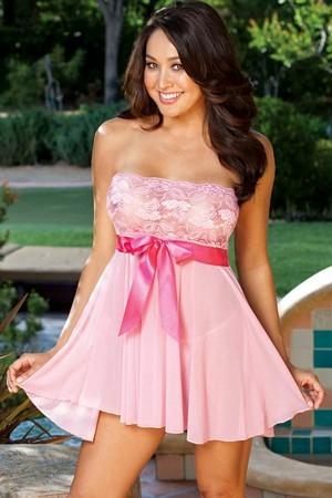 Pink Lace babydoll