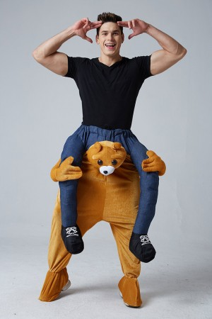 Bear Shoulder Carry On Piggy Back Ride On Me Costume