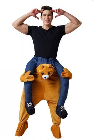 Bear Shoulder Carry Piggy Back Ride On Me Costume