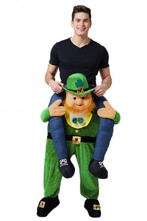 St Patricks Day Ride on Me Fancy Dress Costume LF0004