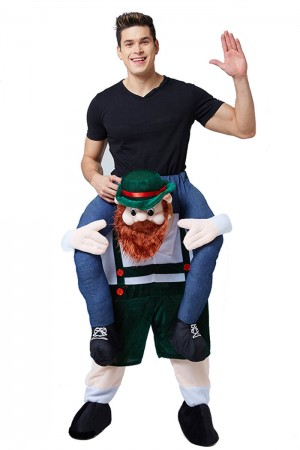 Oktoberfest Shoulder Carry Piggy Back Ride On Me Costume lf0005