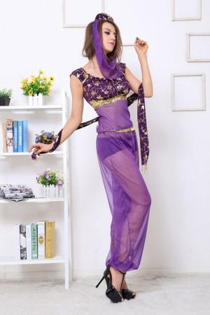 Arabian Genie Aladdin Fancy  dress lg3021
