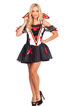 Queen of Hearts Wonderland Outfits