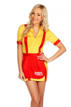 2 Broke Girls Costumes LH-136