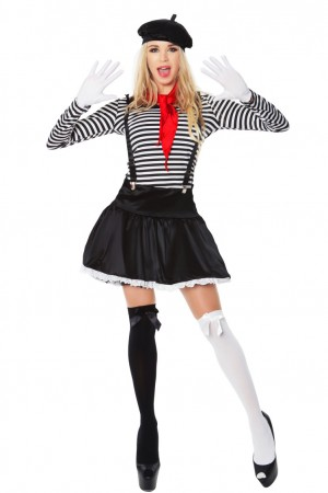 Mesmerizing Mime Costumes LH-140