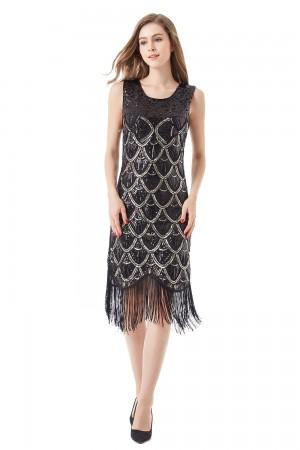 Black gatsby dress melbourne lx1013_1