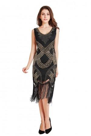 1920s Vintage Great Gatsby Charleston 20s Flapper Fancy Dress