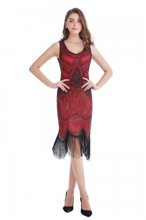 1920s Vintage Great Gatsby Charleston Flapper Fancy Dress