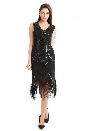 Ladies Gatsby Charleston 20s Flapper Costume