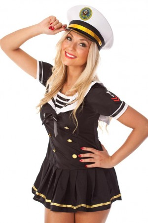 Sailor Costumes - Sailor Girl Fancy Dress Costume
