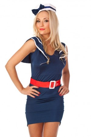 Sailor Costumes - Pin Up Sailor Costume