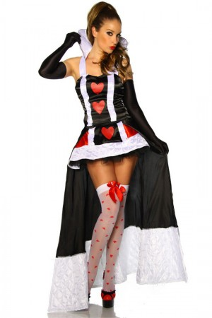 Queen Of Hearts Costumes LZ-8119