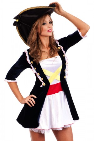 Pirate Costumes - Wench Pirate Costume