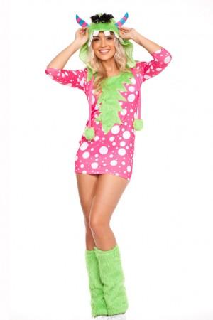 Ladies Halloween Melody Monster Costume